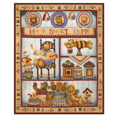 Zingz & Thingz Country Bear Fleece Throw | Wayfair