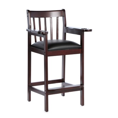 33 Bar Stool Frame Finish: Mahogany