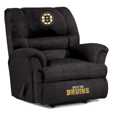 NFL Big Daddy Manual Recliner NHL Team: Boston Bruins