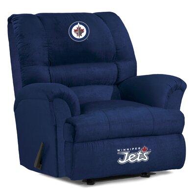 NHL Big Daddy Recliner NHL Team: Winnipeg Jets