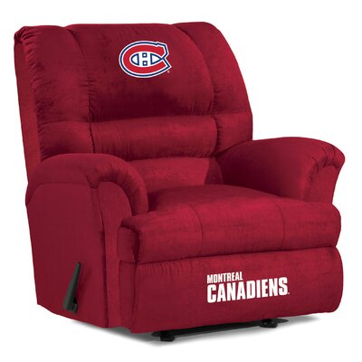 NFL Big Daddy Manual Recliner NHL Team: Montreal Canadians