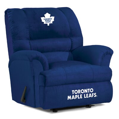 NFL Big Daddy Manual Recliner NHL Team: Toronto Maple Leafs