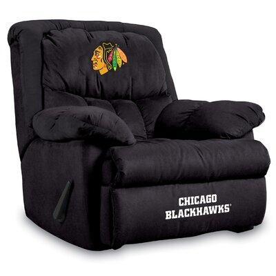 Chicago Blackhawks Recliner Blackhawks Leather Recliner Blackhawks Easy Chair