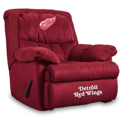 NFL Home Team Manual Recliner NHL Team: Detroit Redwings