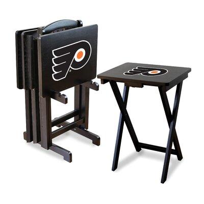 NHL TV Trays with Stand NHL Team: Philadelphia Flyers