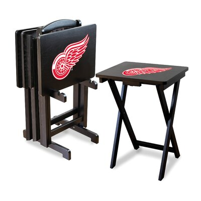 NHL TV Trays with Stand NHL Team: Detroit Redwings
