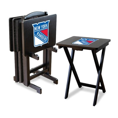 NHL TV Trays with Stand NHL Team: New York Rangers