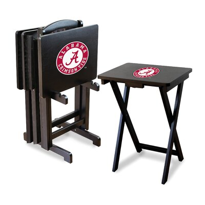 Imperial NCAA 4 Piece TV Tray Set with Stand - NCAA Team: University Of Alabama at Sears.com