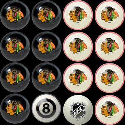 Imperial NHL Home Vs. Away Billiard Ball Set - NHL Team: Chicago Blackhawks at Sears.com