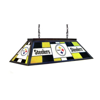 NFL 4-Light Billiard Light NFL Team: Pittsburgh Steelers