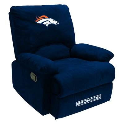 NFL Fan Favorite Recliner NFL Team: Denver Broncos