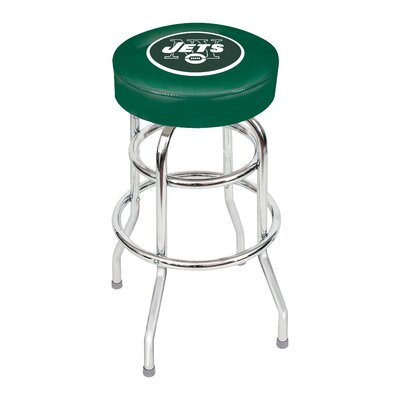NFL 30 inch Swivel Bar Stool NFL Team: New York Jets