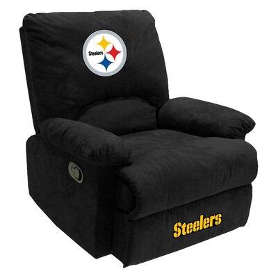 NFL Manual Recliner NFL Team: Pittsburg Steelers