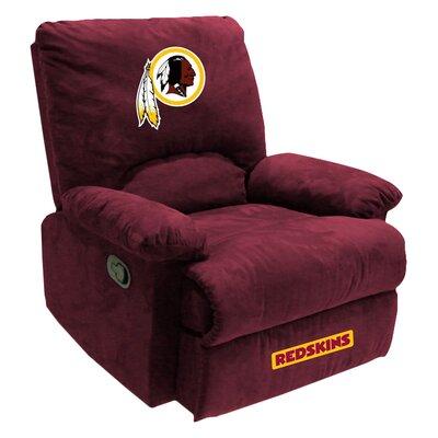 NFL Manual Recliner NFL Team: Washington Redskins