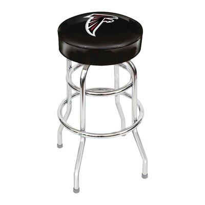 NFL 30 inch Swivel Bar Stool NFL Team: Atlanta Falcons