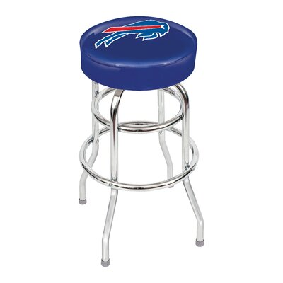 NFL 30 inch Swivel Bar Stool NFL Team: Buffalo Bills