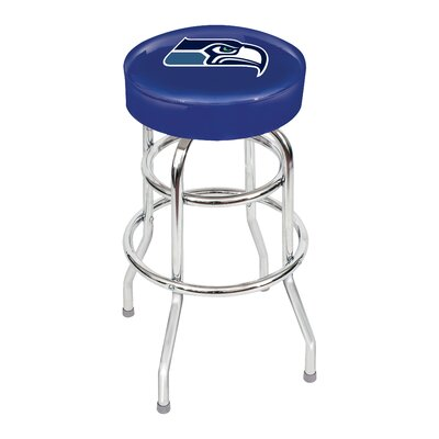NFL 30 inch Swivel Bar Stool NFL Team: Seattle Seahawks