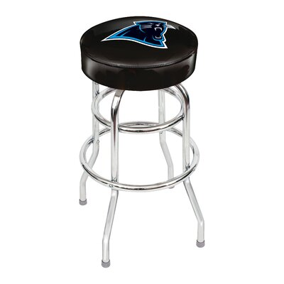 NFL 30 inch Swivel Bar Stool NFL Team: Carolina Panthers