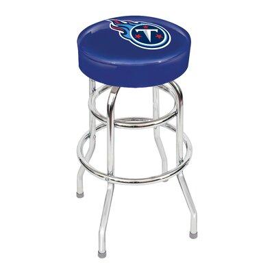 NFL 30 inch Swivel Bar Stool NFL Team: Tennessee Titans