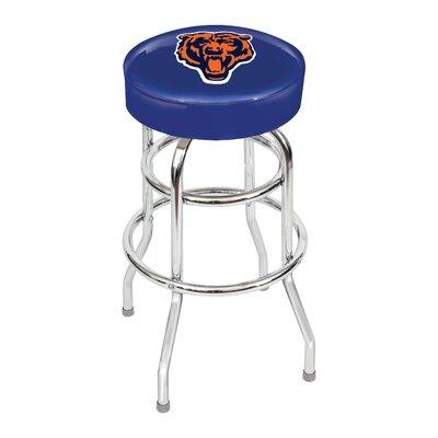 NFL 30 inch Swivel Bar Stool NFL Team: Chicago Bears