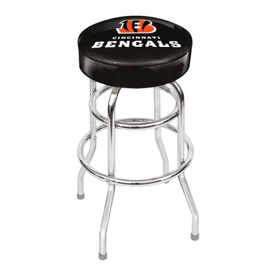 NFL 30 Swivel Bar Stool NFL Team: Cincinnati Bengals