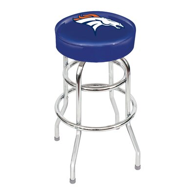 NFL 30 inch Swivel Bar Stool NFL Team: Denver Broncos