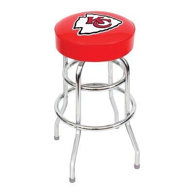 NFL 30 Swivel Bar Stool NFL Team: Kansas City Chiefs
