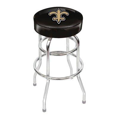 NFL 30 inch Swivel Bar Stool NFL Team: New Orleans Saints
