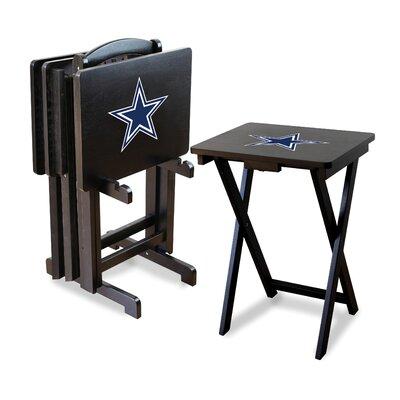 NFL TV Tray Set NFL Team: Dallas Cowboys