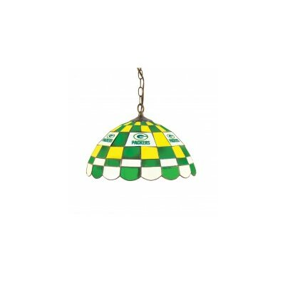 NFL 2-Light Bowl Pendant NFL Team: Green Bay Packers