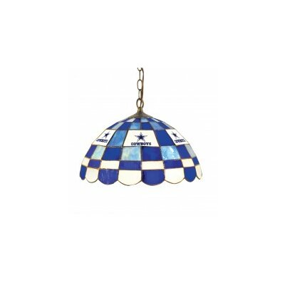 NFL 2-Light Bowl Pendant NFL Team: Dallas Cowboys