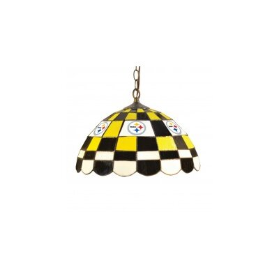 NFL 2-Light Bowl Pendant NFL Team: Pittsburgh Steelers