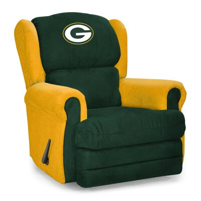 NFL COS Coach Manual Recliner NFL Team: Green Bay Packers