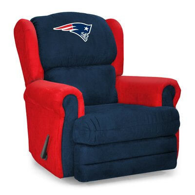 NFL COS Coach Manual Recliner NFL Team: New England Patriots