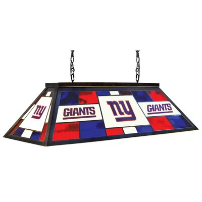 NFL 4-Light Billiard Light NFL Team: New York Giants