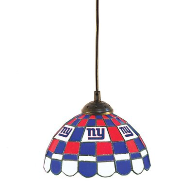 NFL 1-Light Bowl Pendant NFL Team: New York Giants