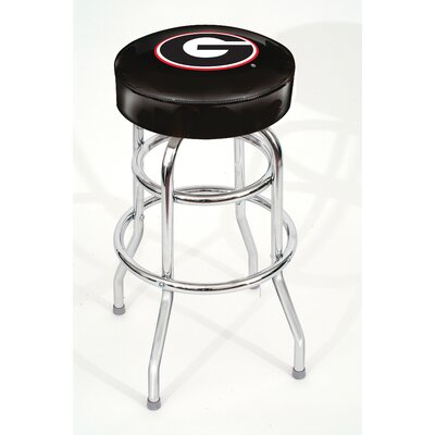 NCAA 30 Swivel Bar Stool NCAA Team: Georgia