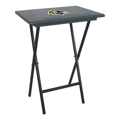 NFL TV Tray Set NFL Team: Baltimore Ravens
