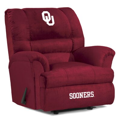 Big Daddy NCAA Recliner NCAA Team: University of Oklahoma
