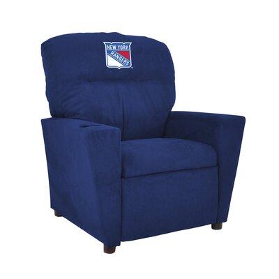 NHL Tween Recliner NHL Team: New York Rangers