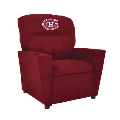 NHL Tween Recliner NHL Team: Montreal Canadians