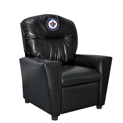 NHL Tween Recliner NHL Team: Winnipeg Jets