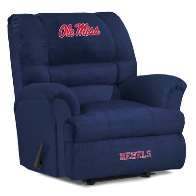 Big Daddy NCAA Recliner NCAA Team: University of Mississippi