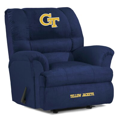 Big Daddy NCAA Recliner NCAA Team: Georgia Tech