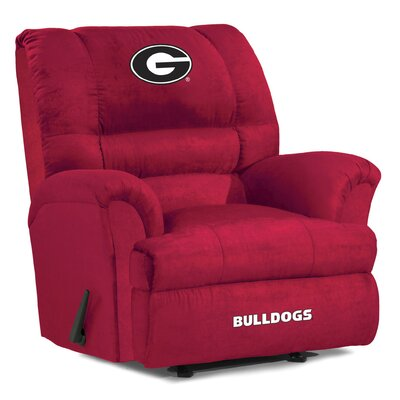 Big Daddy NCAA Recliner NCAA Team: University of Georgia