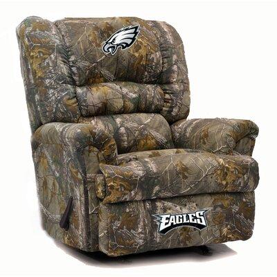 Big Daddy NFL Camo Recliner NFL Team: Philadelphia Eagles