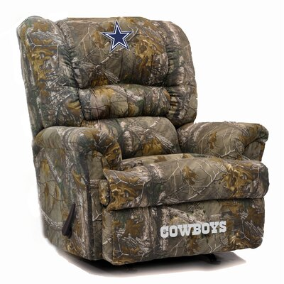 Big Daddy NFL Camo Recliner NFL Team: Dallas Cowboys