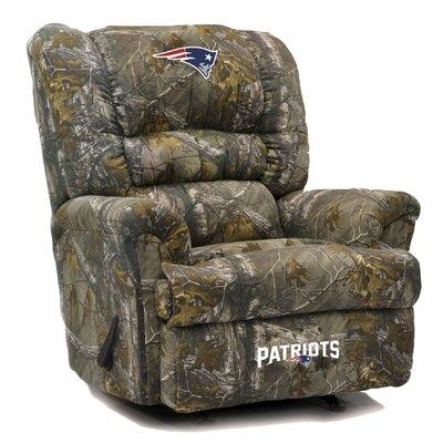 Big Daddy NFL Camo Recliner NFL Team: New England Patriots