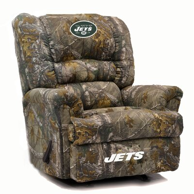 Big Daddy NFL Camo Recliner NFL Team: New York Jets