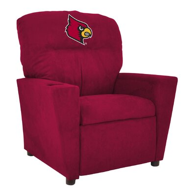 NCAA Tween Recliner College Team: University of Louisville